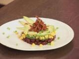 Тарт от зрял фасул с царевица и авокадо 9