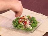 Зелена салата с мариновани калмари 6