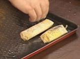 Пурички със сирене и песто от коприва 4