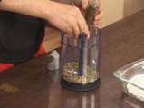 Пъстърва с коричка от тиквено семе 2