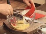 Супа от аспержи, спанак и заливка с пармезан 6