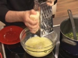 Супа от аспержи, спанак и заливка с пармезан 7