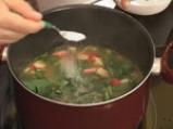 Китайска супа от свинско и лапад 7