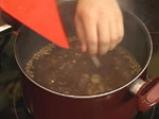 Супа от леща с макарони 5