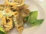 Тортелони със спанак и сос от салвия