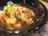 Супа от тиквички с тортелини