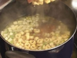 Супа от тиквички с тортелини 3