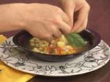Супа от тиквички с тортелини 5