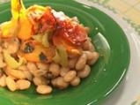Плакия от зрял фасул с домати