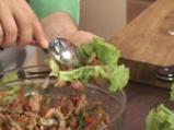 Сарми от зелена салата със свинско 9