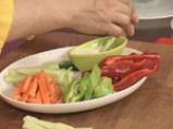 Зеленчуково плато с къри дип 8