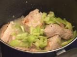 Свинско със зелен фасул 4