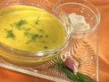 Супа от фасул с бадеми