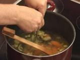 Супа от фасул с бадеми 2