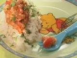 Риба със сос от чушка и домат