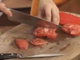 Риба със сос от чушка и домат 3