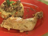 Пиле с ориз и дробчета