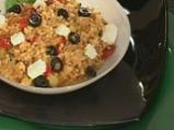 Пилаф с кускус, сирене и домати