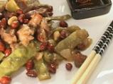 Свинско със зелен фасул по китайски