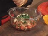 Пълнени чушки с риба тон и макарони 5