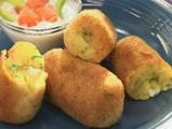 Картофени крокети със сирене