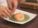 Торнедо от сьомга със сметаново-лучен сос и бекон 8