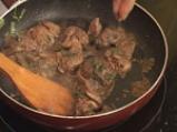 Пилешко роле с пилешки дроб, пастет от пилешки дроб, чипс от пиле и олио от мащерка 4