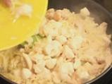 Пилешко филе с кашкавал и топено сирене