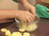 Тортиля с картофи за микровълнова фурна 3