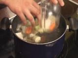 Мариновано телешко филе със салата от краставици и хрян 2