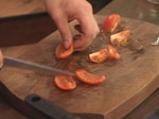 Мариновано телешко филе със салата от краставици и хрян 5
