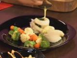 Пангасиус със спанак и зеленчуци на пара 10