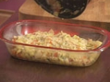 Мусака с праз и ориз 7