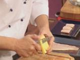 Пангасиус с мариновани чушки и пюре от аспержи  4