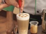 Лате макиато (изцапване на млякото) 4