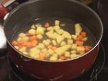 Крем супа с пилешко месо 3