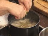 Крем супа с пилешко месо 4
