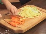 Филе от пъстърва със зеленчукова гарнитура 4