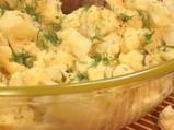 Карфиол на фурна с топено сирене