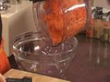 Пилешки шишчета с кускус и салата от моркови 2