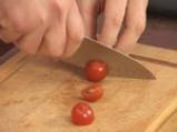 Пилешко руло с бекон и рагу от чери домати 8