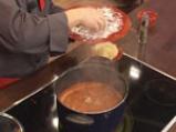Супа топчета със спанак 8