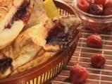 Банички с боровинки и малини