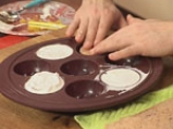 Шоколадов мус с манго и какаова бисквита 10
