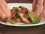 Задушен октопод с маслини, кедрови ядки и домати 8