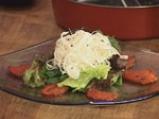 Салата от спанак и домат конфи 9
