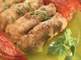 Сарми и пиперки със счукан боб и зеле...