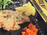 Бяла риба с доматен сос и ароматна ко...