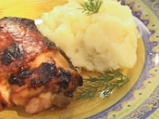 Пилешки бутчета със соев сос и картоф...