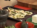 Спаначена салата със сирене и малинов винегрет 2
